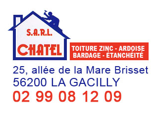Couverture Bardage Chatel sarl La Gacilly